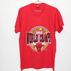 Vintage 1991 Chicago Bulls NBA World Champs Shirt